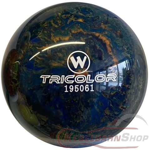 Vollkugel 160mm TRICOLOR blau/schwarz/gold  TYP WINNER