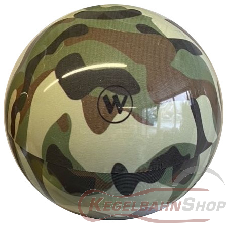 Vollkugel 160mm Camouflage Army grün TYP WINNER