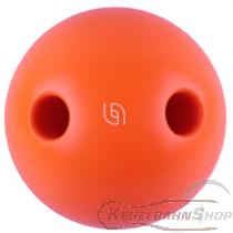 Lochkugel 160mm orange fluoreszierend TYP Aramith