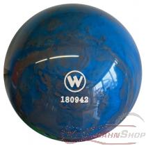 Vollkugel 160mm blau/grau marmoriert  TYP WINNER