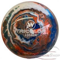 Vollkugel 160mm TRICOLOR blau/weiss/orange  TYP WINNER