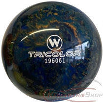 Vollkugel 160mm TRICOLOR blau/schwarz/gold  TYP WINNER