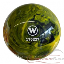 Vollkugel 160mm gelb/schwarz marmoriert   TYP WINNER