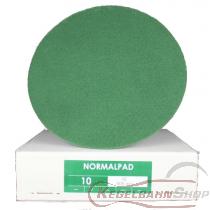 Normal - PAD Scheiben grün ø46cm 10 Stück