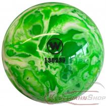 Vollkugel 160mm grün/weiss marmoriert   TYP WINNER