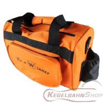 Kugeltasche orange für zwei Kugeln TYP WINNER Double SMALL