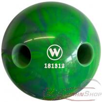 Lochkugel 160mm blau/grün marmoriert  TYP WINNER