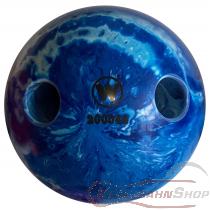 Lochkugel 160mm blau/weiss marmoriert  TYP WINNER