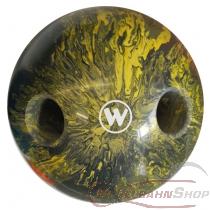 Lochkugel 160mm gelb/weiss/schwarz marmoriert  TYP WINNER