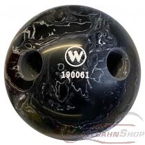 Lochkugel 160mm schwarz/weiss marmoriert  TYP WINNER
