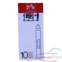Mal- und Zeichenkreide weiß für Plexiglastafeln ( 10 Stück )