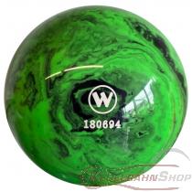 Vollkugel 160mm neongrün/schwarz  marmoriert   TYP WINNER