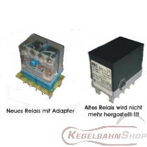 Adapter S mit Relais Finder 24V DC als Ersatz für BBC Schütz