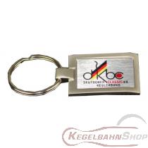 Schlüsselanhänger DKBC aus Aluminium