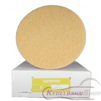 SUPER - PAD Scheiben beige ø46cm 5 Stück