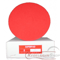 SUPER - PAD Scheiben rot ø33cm 5 Stück