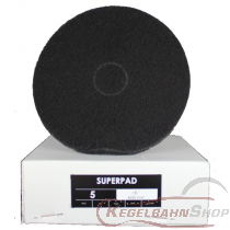 SUPER - PAD Scheiben schwarz ø33cm 5 Stück