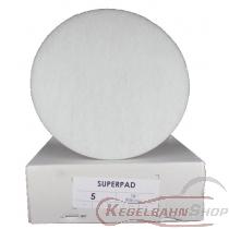 SUPER - PAD Scheiben weiss ø41cm 5 Stück