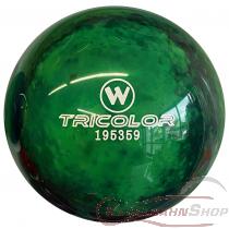 Vollkugel 160mm TRICOLOR blau/schwarz/grün marmoriert TYP WINNER