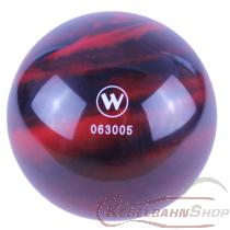 Vollkugel 150mm rot/schwarz marmoriert TYP WINNER