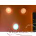 unten LED oben normale Glühbirnen