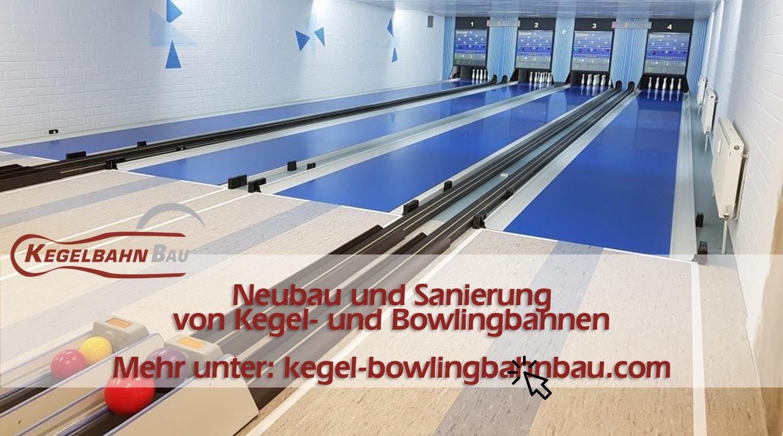 Kegel und Bowlingbahnbau